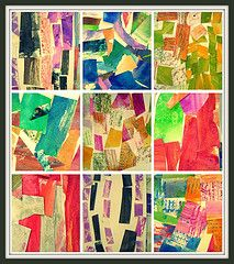 Kindy collages