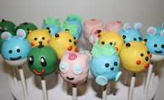 Pokemon cake pops!