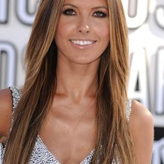 caramel brown with blonde highlights