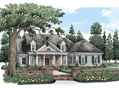 LOVE THIS HOUSE - Cape Cod House Plan with 2490 Square Feet and 3 Bedrooms from Dream Home Source | House Plan Code DHSW63628 cape cod style, houses, home plans, dream homes, hous plan, floor plans, cape cod homes, front porches, house plans