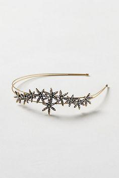 starburst headband for the holidays - anthropologie $32