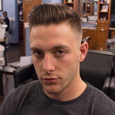 Wwii haircut men
