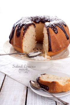 Coconut Cake with Cardamom