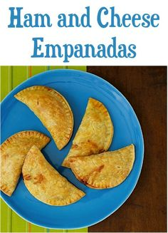 Ham and Cheese Empanadas Recipe!