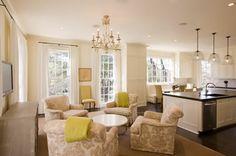 club chairs in kitchen