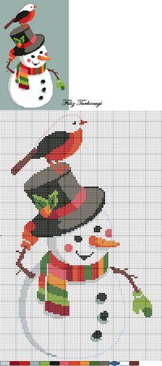Kuş Seri Desen: 6 (Bird Series: 6 ) Designed by Filiz Türkocağı...Ne kaldı yeni seneye, belki işlemek isteyen olur diye paylaşayım dedim...