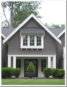 Exterior | Pratt & Lambert Wendigo for a dark gray exterior by sondra