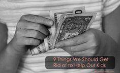 Child counting money (Shallow DOF)