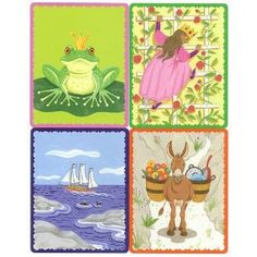 """Or even better... make your own deck of """"Tell me a Story"""" cards for the kids!"""
