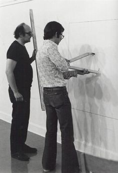 """thinking: """"Ideas alone can be works of art; they are in a chain of development that may eventually find some form. All ideas need not be made physical."""" -Sol LeWitt  image: 2012 Beckwith Lecture: Boston's First Sol LeWitt Drawing  @CTSart #art"""