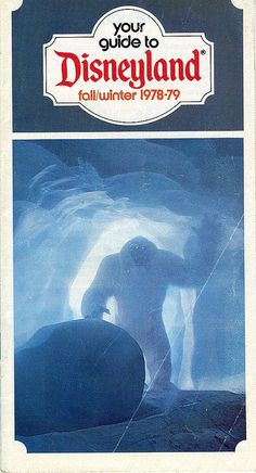 Disneyland Fall Winter 1978-79 Guide