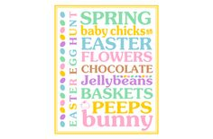 Easter subway sign