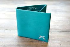 Maxx & Unicorn Teal Bifold Wallet