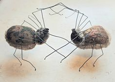 Textile Spiders By Mister Finch
