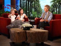 Sophia Grace and Rosie tell Ellen about their secret fairies.