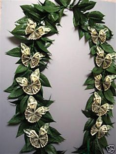 Bing : lei graduation ($20 butterfly)