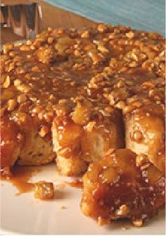 Peanut Butter-Banana Monkey Bread — Peanuts, brown sugar and pancake syrup make this the perfect recipe for a nutty, sweet and sticky treat.