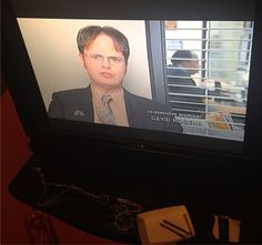 #TheOfficeViewingParty    http://instagram.com/p/QYaqsLOcmJ/