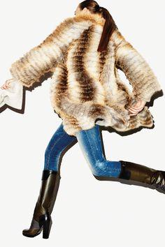 high bootsfurdistress, fall fashions, furs, bootsfurdistress jean, style
