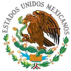 the emblem of the mexican flag -