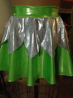THINK TINK!  Running Costume Skirt! Super fun and fabulous skirt for Tink and Disney Races!
