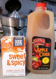 Mulled Apple Cider!   http://familyfocusblog.com/easy-make-mulled-apple-cider-quickly/