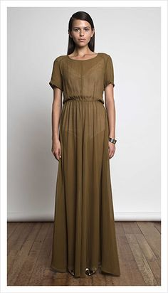 This is a very wantable dress from Juliette Hogan.