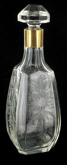 Antique Hawkes cut glass