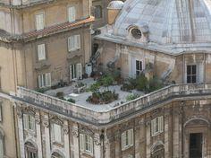 Zinc roof tiles/roof top garden