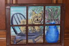 I do not particularly care for this painting I did but the dog's owner loved it!