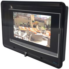 Watch TV Outdoors with this water  rain protective cover!  http://thetvshield.com  http://shop.thetvshield.com