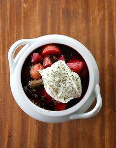 How To Make Ukrainian Borscht from @kitchenmagpie