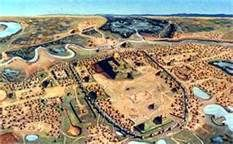 Moundville State Park; Moundville, AL is an interesting visit for anyone attending an Alabama football game for the weekend.  It is the excavation of a Mississippian culture approx 1000 A.D.