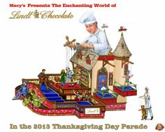 Lindt unveils design for Macy's Thanksgiving Day Parade float