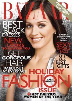 Katy Perry: Harpers Bazaar cover girl