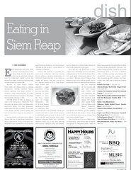 Eating in Siem Reap | Lina Goldberg, Phnom Penh, Cambodia