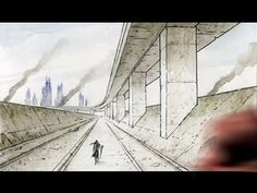 Mark Crilley: How to Draw Backgrounds (1-point Perspective)
