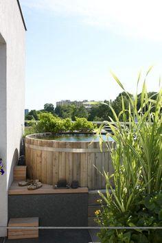 Backyard Ocean - Above Ground Pool Ideas