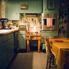julia child's kitchen -- now resting at the Smithsonian Institute.  A true American treasure. kitchens, julia child kitchen, julia childs kitchen, dream, food, bon appetit, children, hous, place