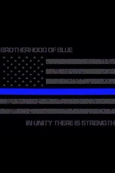 Police Blue Line Tattoo Thin blue line