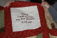 guest book quilts - Google Search