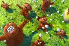 "Bears in Dr. Seuss's ""The Lorax"""