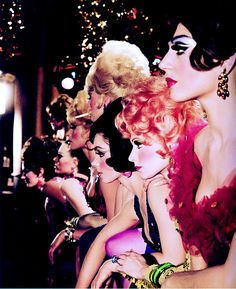 Las Vegas showgirls - Sammy Davis Jr