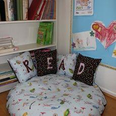 Kids Reading Nook On Pinterest Reading Centers Kid