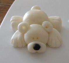 polar bear polar bears, fimo polar bear