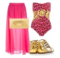 Versace Poolside Summer Style