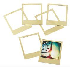 Magnetic Gold Frames