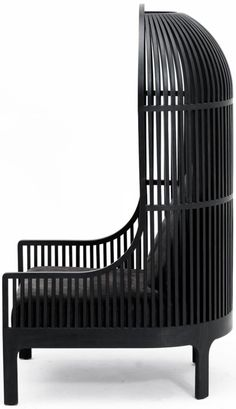 Black Nest Lounge Chair by Autoban