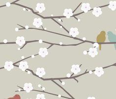 cherry fabric by troismiettes on Spoonflower - custom fabric