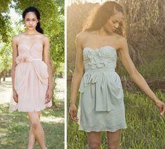 Would make beautiful bridesmaids dresses